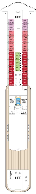 Queen Mary 2 DECK 12