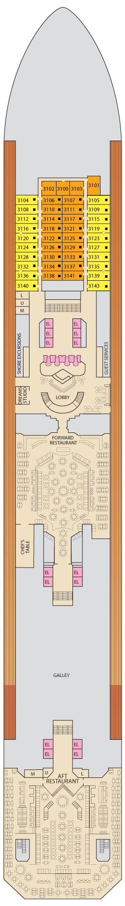 Lobby - Deck 3