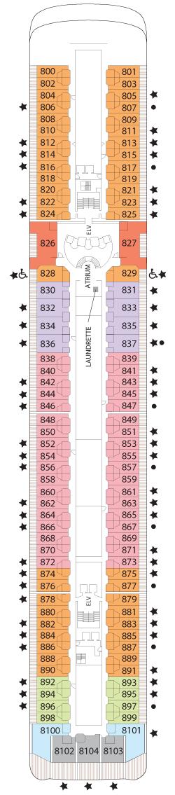 Seven Seas Mariner Deck Eight