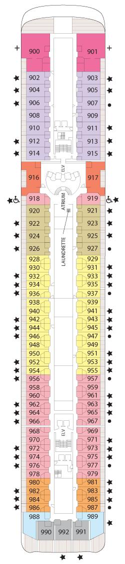 Seven Seas Mariner Deck Nine