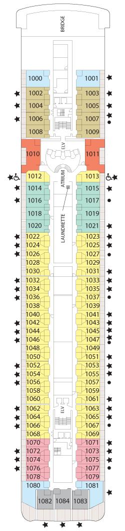 Seven Seas Mariner Deck Ten