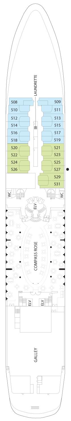 Seven Seas Navigator Deck Five