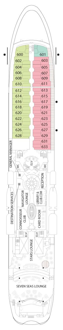Seven Seas Navigator Deck Six