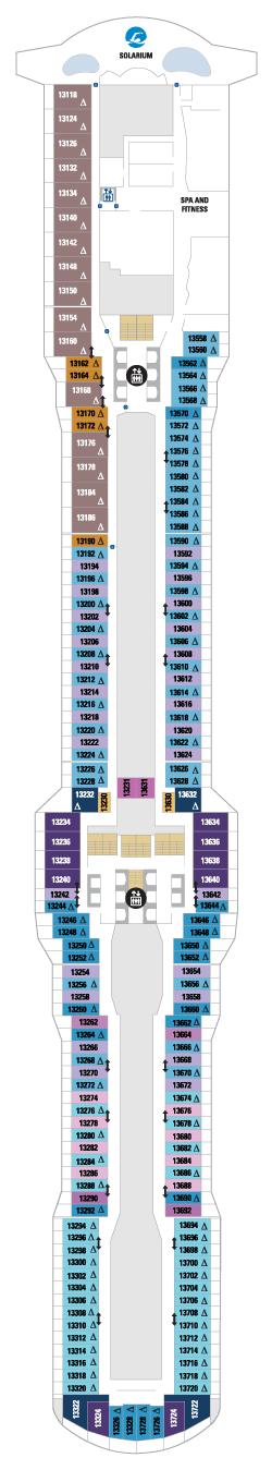 Spectrum of the Seas Deck 13