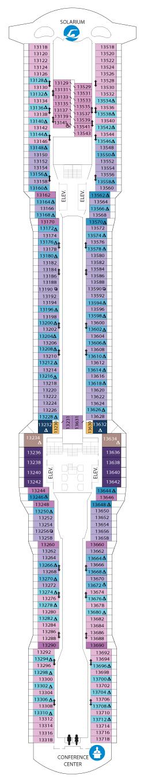 Ovation of the Seas Deck 13