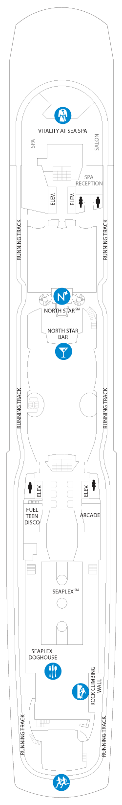Ovation of the Seas Deck 15