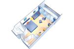1040 Floor Plan