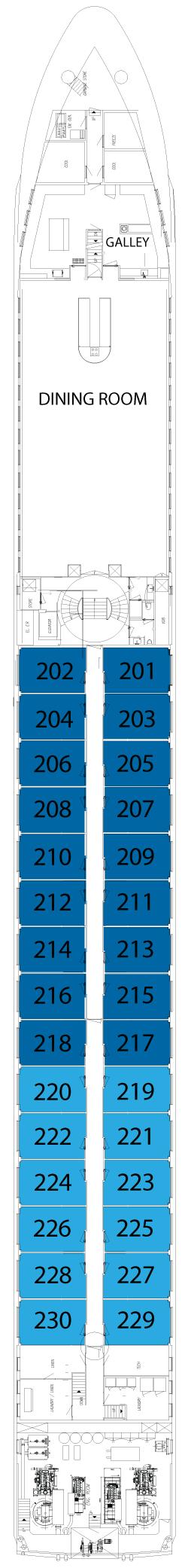 Avalon Affinity Sapphire Deck