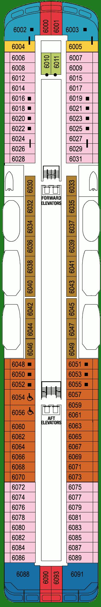 Azamara Quest DECK 6