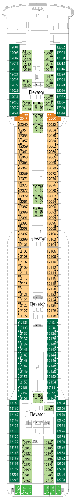 MSC Magnifica Deck 12