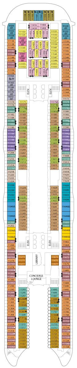 Oasis of the Seas Deck 11
