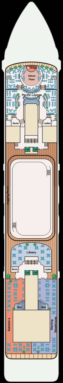Pacific Princess Deck 10