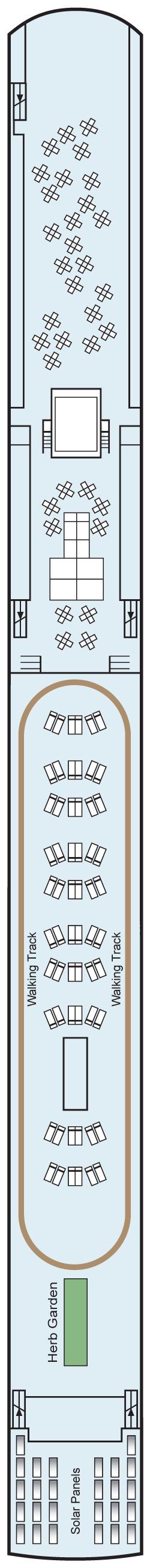 Viking Gullveig Sun Deck