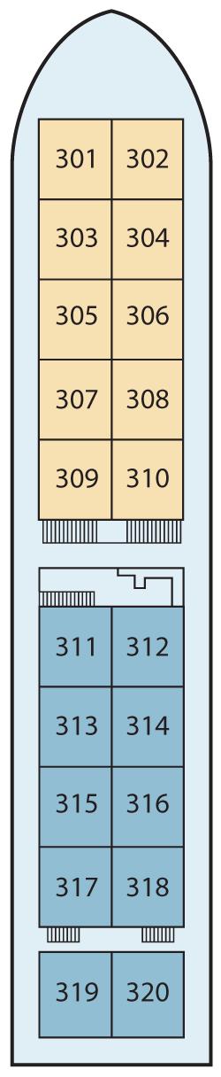 Viking Mandalay Upper Deck