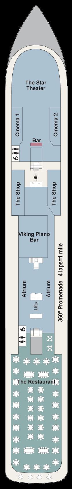 Viking Sea DECK 1